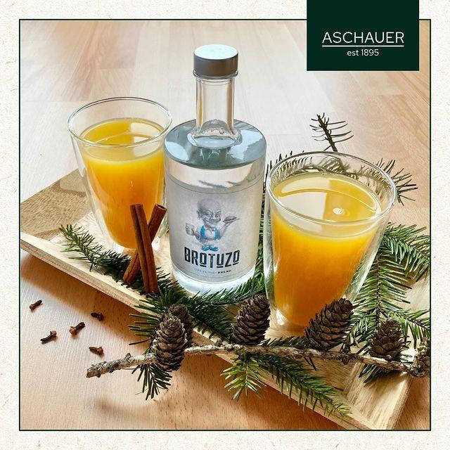 Rezept BROTUZO Orangenpunsch - hochBROTzentig - Kaufhaus-Bäckerei Aschauer OG